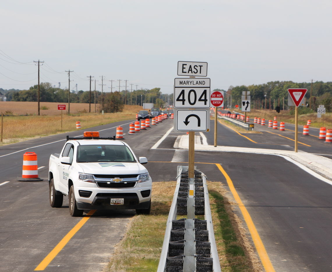 MD 404 IMPROVEMENT PROJECT WINS AMERICA'S TRANSPORTATION AWARD