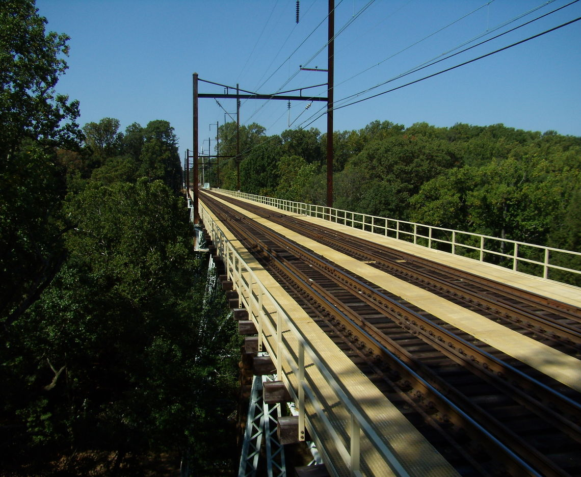 INNOVATION THEN AND NOW: SEPTA'S CRUM CREEK VIADUCT