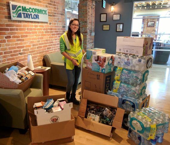 giving back luz vega donation