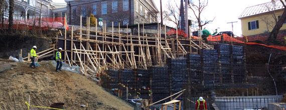 5 parking lot e construction