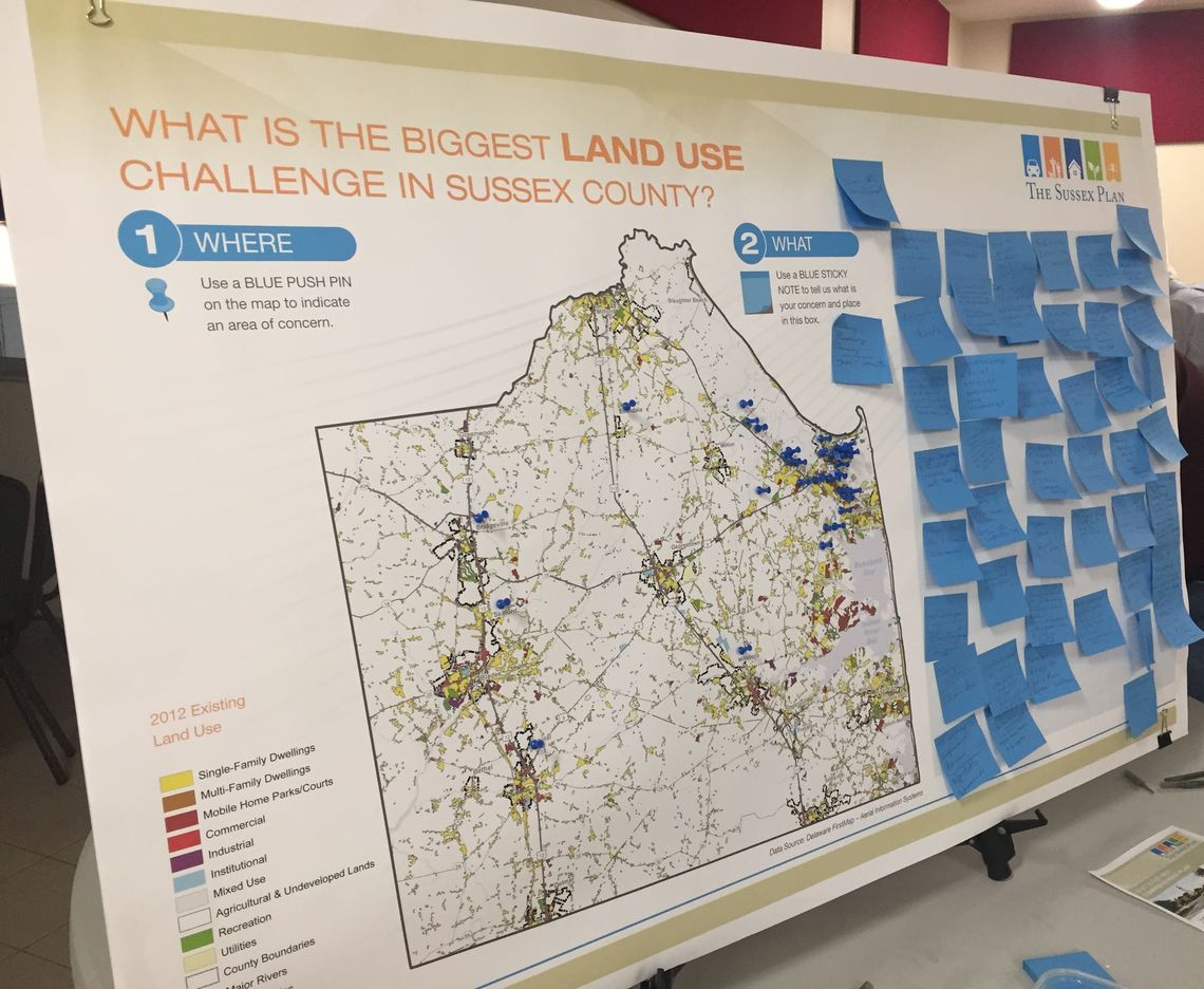 SUSSEX COUNTY ADOPTS NEW COMPREHENSIVE PLAN