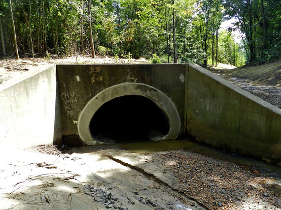 f photo 1 upstream view of 850 section of 10 x14 culvert after completion of work