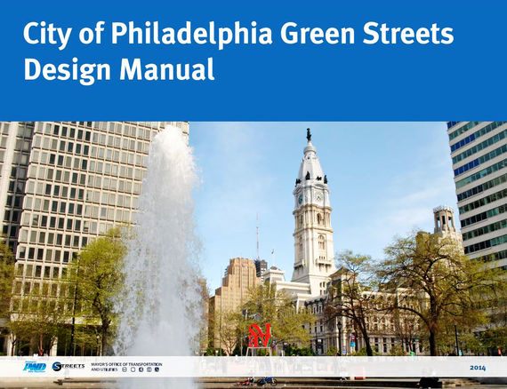 green streets design manual cover