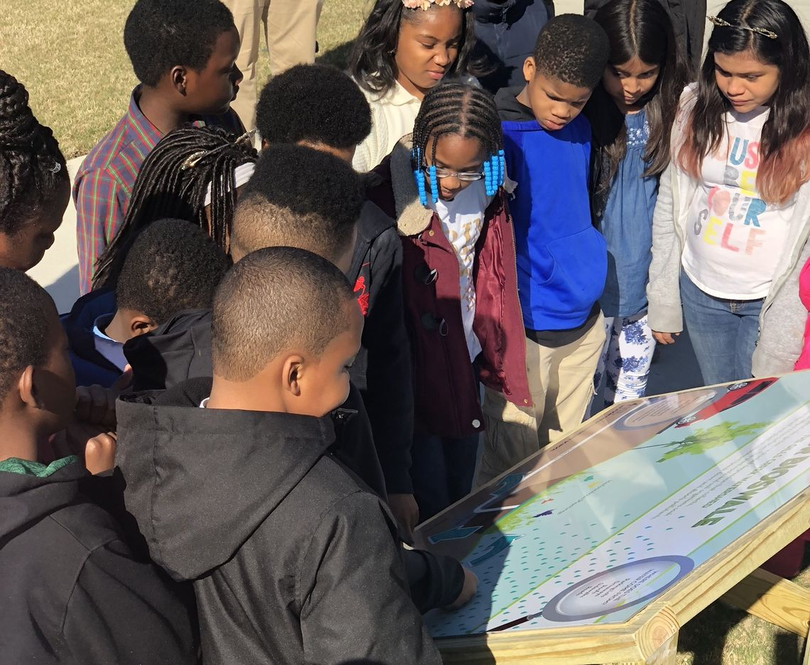 McCORMICK TAYLOR PARTICIPATES IN EARTH DAY CELEBRATION AT JACKSON CREEK ELEMENTARY