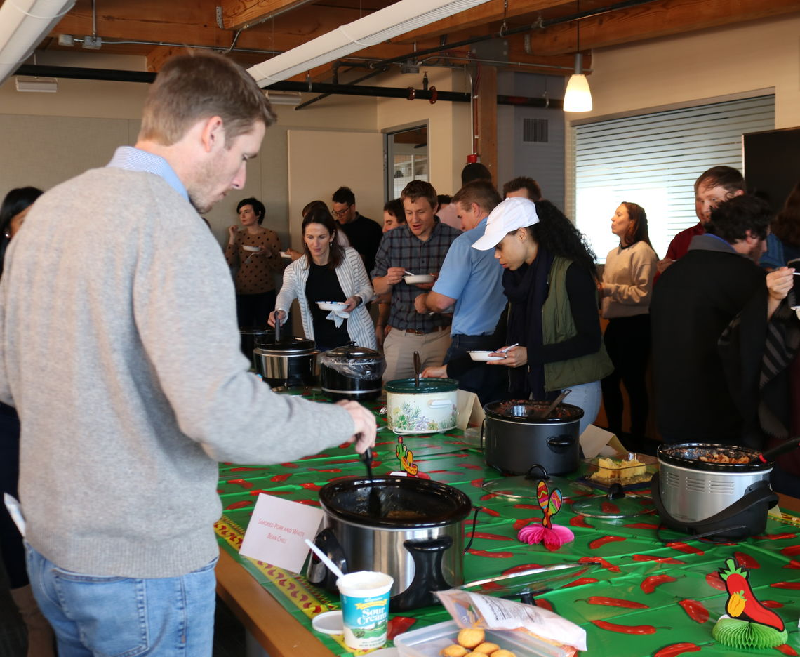 McCORMICK TAYLOR'S BALTIMORE OFFICE HOSTS 6TH ANNUAL CHILI COOK-OFF