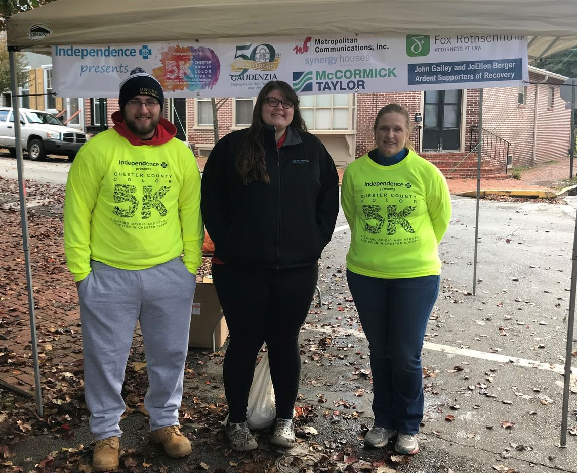 McCORMICK TAYLOR SPONSORS CHESTER COUNTY COLOR 5K