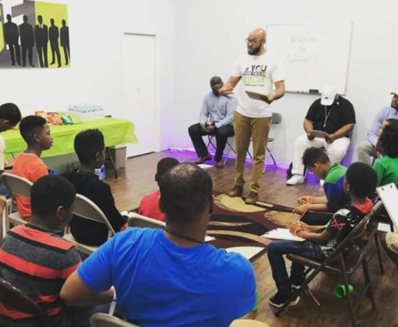 NEHEMIAH STEWART MENTORS YOUTH THROUGH EMPOWERED U