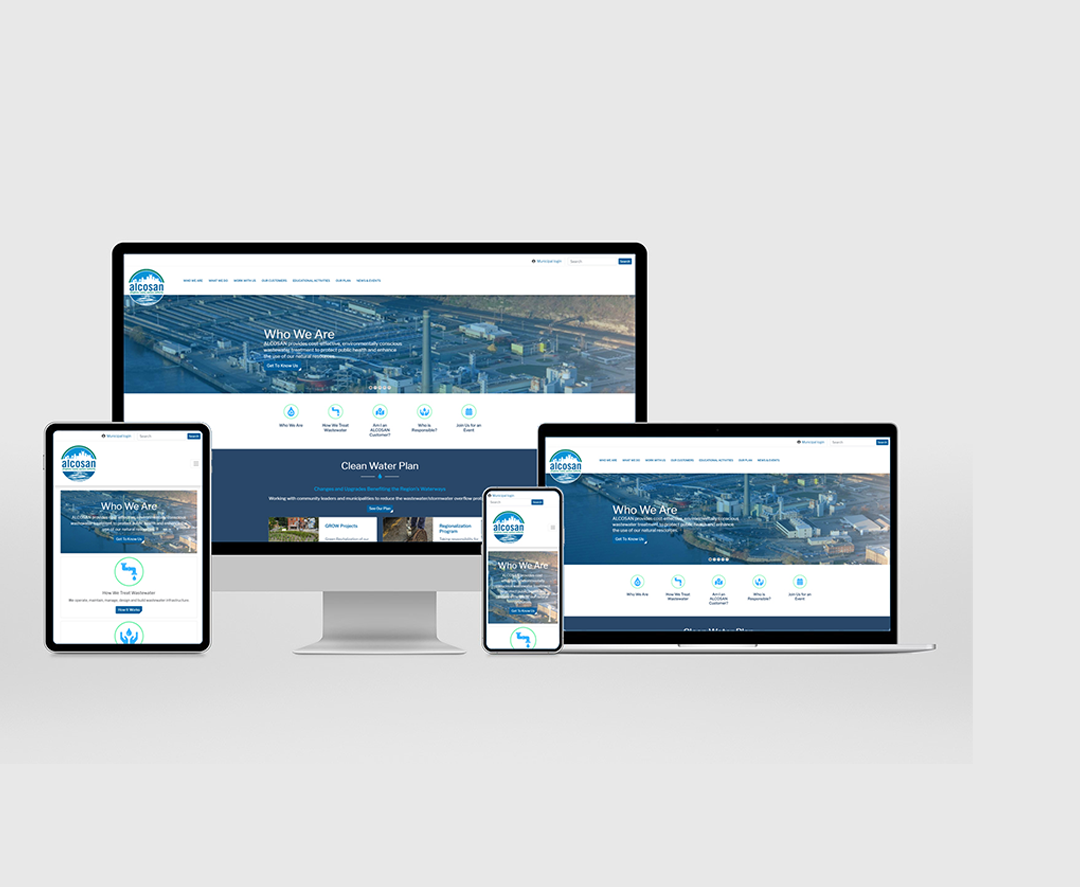 ALCOSAN WEBSITE DESIGN