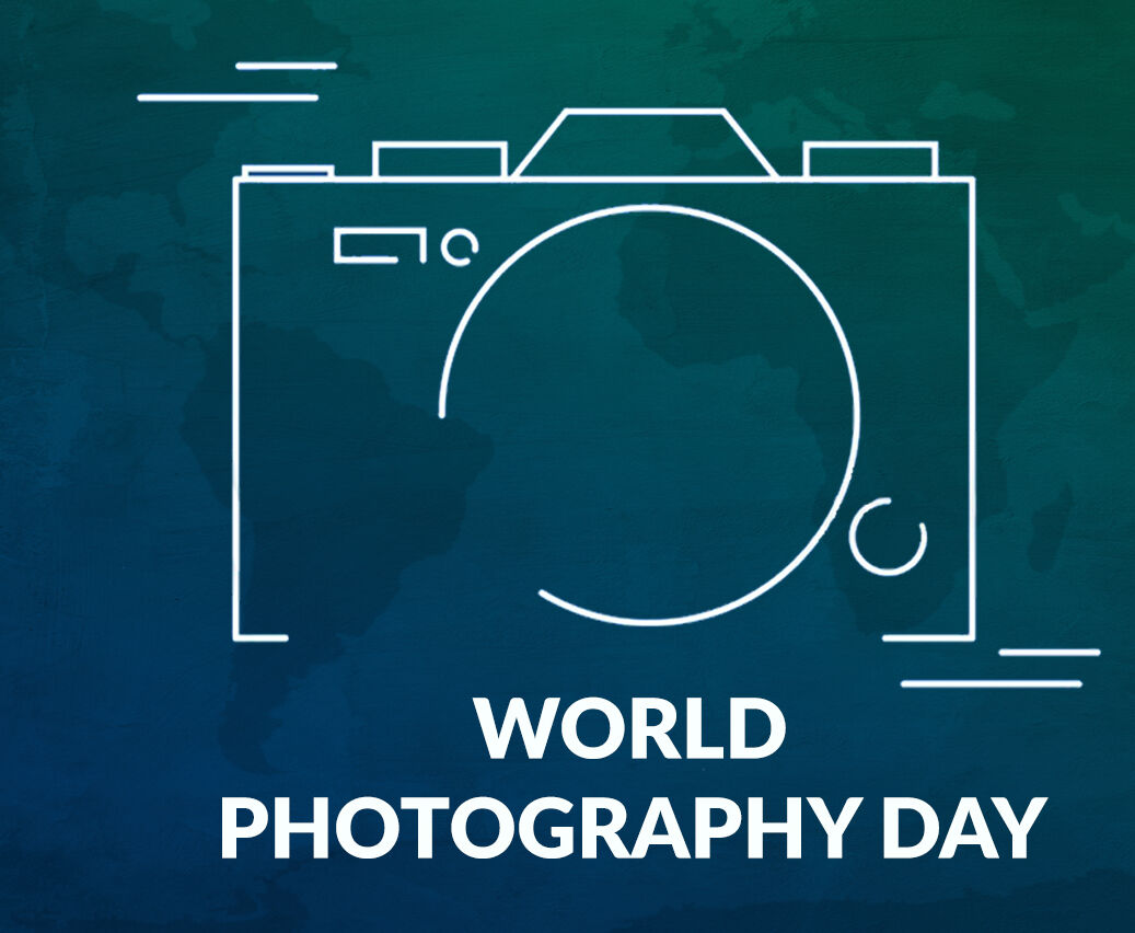 HAPPY WORLD PHOTOGRAPHY DAY!