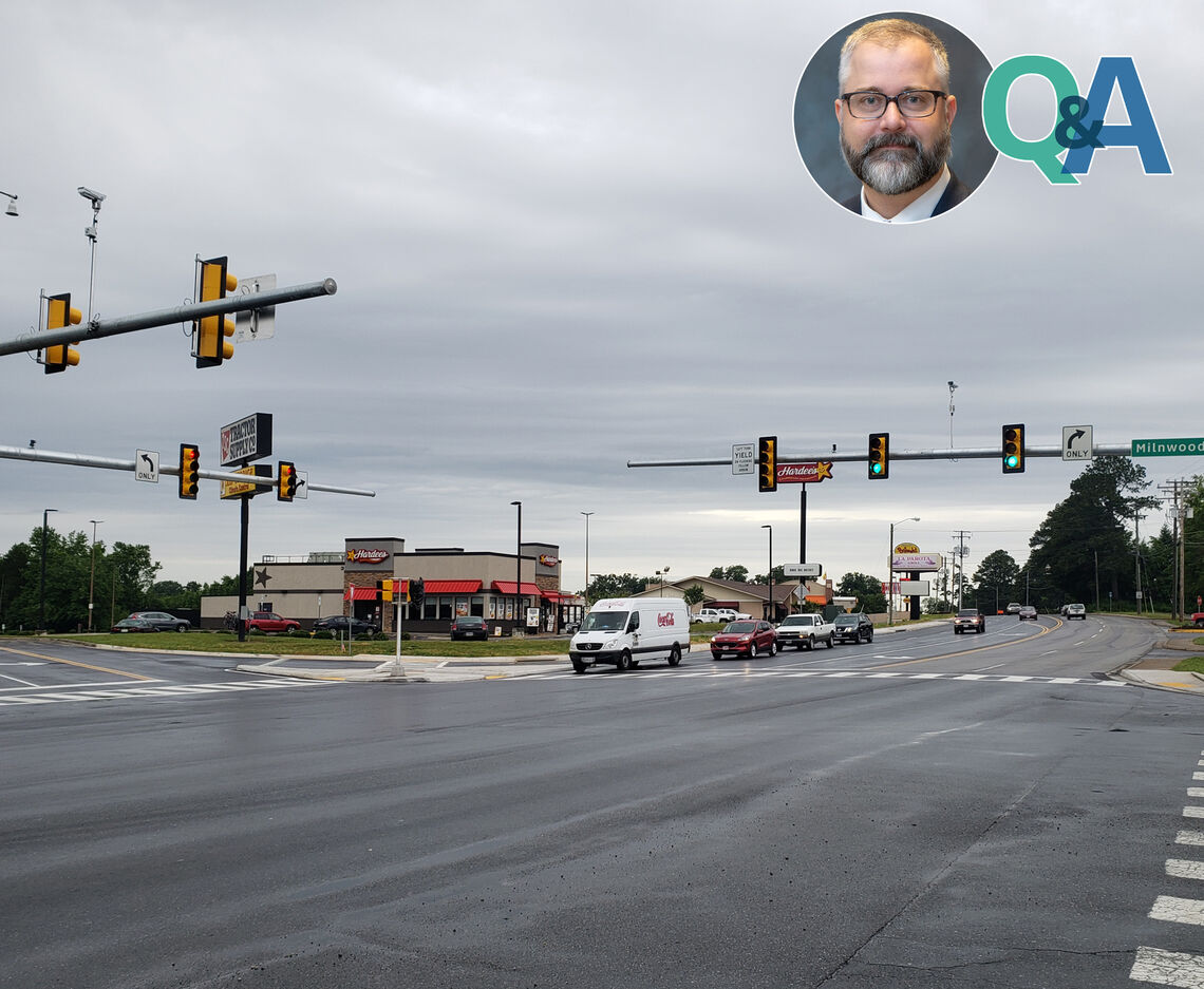 ASK A PROJECT MANAGER: MAIN STREET AND MILNWOOD ROAD INTERSECTION IMPROVEMENTS