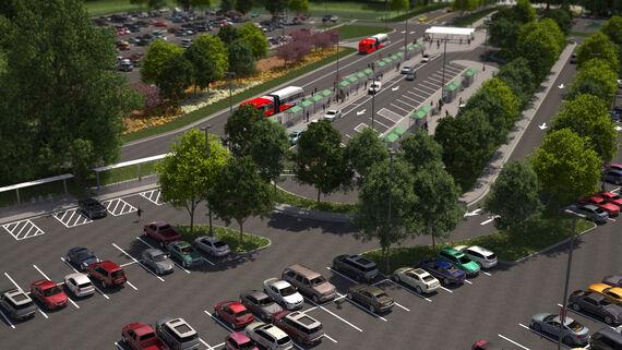 figure 8 bus loop blur