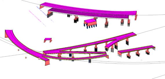 interchange elevation