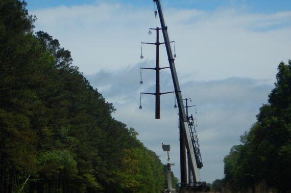 5 photo 4 transmission tower installation