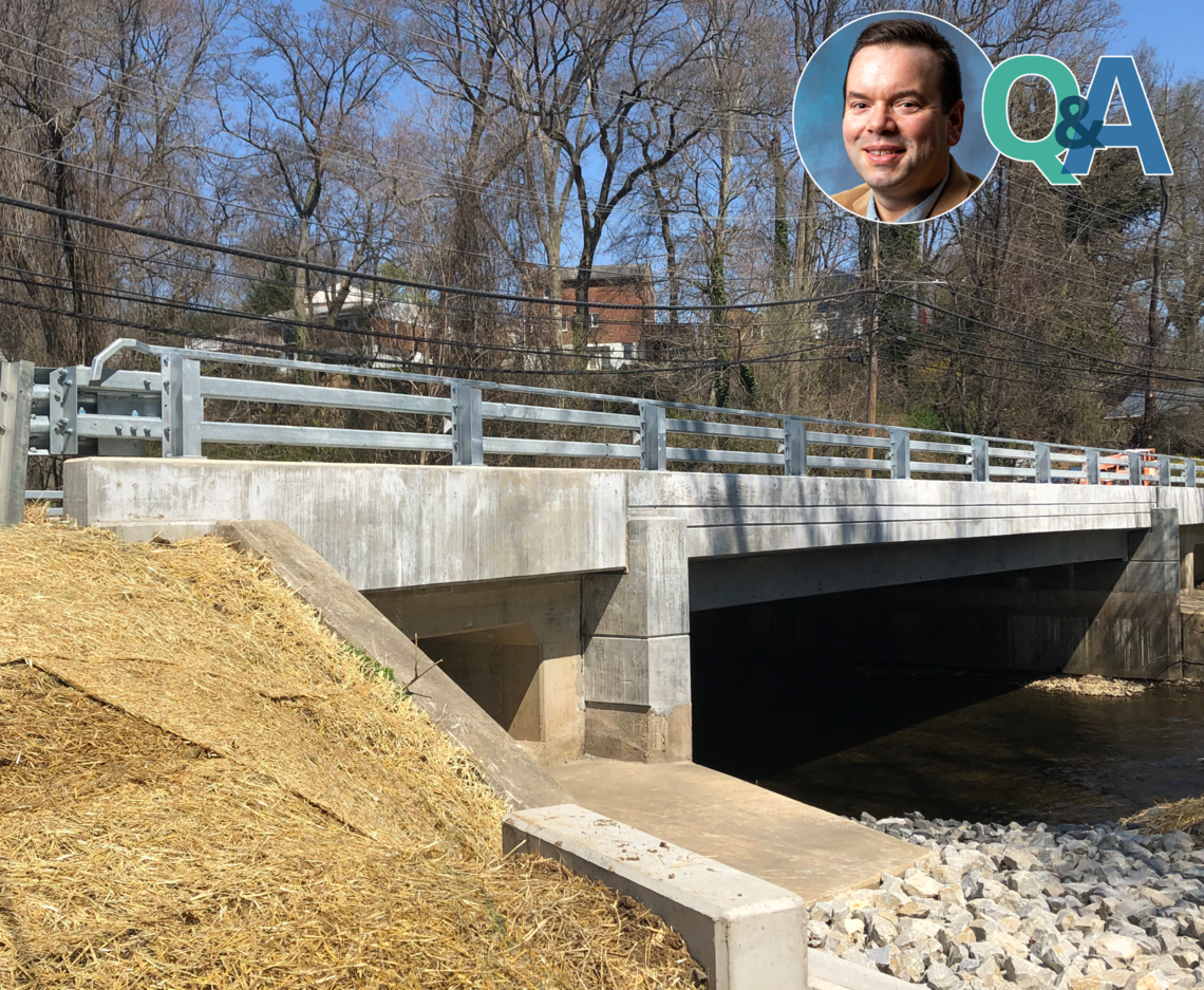 ASK THE PROJECT MANAGER: BULLENS LANE OVER CRUM CREEK SUPERSTRUCTURE REPLACEMENT