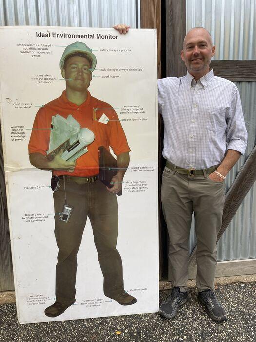 ben cardboard cutout
